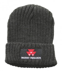 Grey Beanie | Massey Parts | Martin's Garage