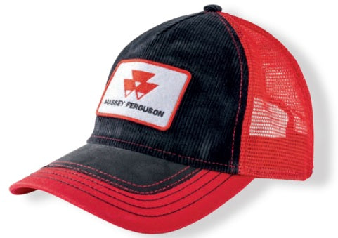Massey Ferguson Red Black Cap | Massey Parts | Martin's Garage