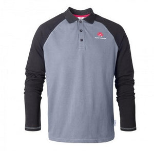 Longsleeve Raglan Polo Shirt | Massey Parts | Martin's Garage
