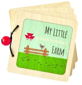 Massey Ferguson Wooden Picture Book - X993311918000 | Massey Parts | Martin's Garage