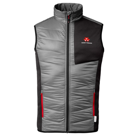 Massey Ferguson Mens Quilted Gilet - X993312005