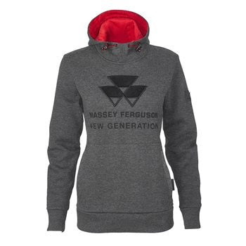 Massey Ferguson Ladies Hoodie - X993321703 | Massey Parts | Martin's Garage