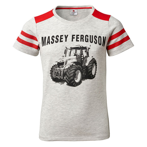 Massey Ferguson Grey Kids T-Shirt - X993322010