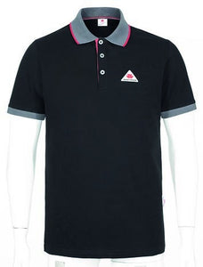 Massey Ferguson Men's Polo Shirt - Black | Massey Parts | Martin's Garage