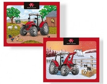 Massey Ferguson Cartoon Puzzle 2-pack - Jigsaw - X993341802000 | Massey Parts | Martin's Garage