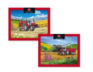 Massey Ferguson Cartoon Puzzle 2-pack - Jigsaw