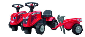 Falk Massey Ferguson Ride On With Trailer - X993361900241 | Massey Parts | Martin's Garage