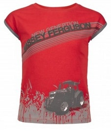 Massey Ferguson Girls T-Shirt - X993310003 | Massey Parts | Martin's Garage