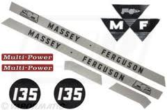 Decal Kit 135 | Massey Parts | Martin's Garage