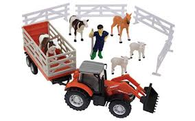 MF 8600 Small Farm Playset | Massey Parts | Martin's Garage