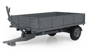 MF 3 Ton Trailer Tipping Bed With Drop Sides, Scale 1:32 | Massey Parts | Martin's Garage
