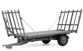 Universal Hobbies Massey Ferguson 3 Ton Trailer With Hay Lades - X993040411000 | Massey Parts | Martin's Garage