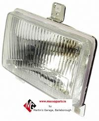 Head Light, RH/LH (LH Dip) 300 Series | Massey Parts | Martin's Garage