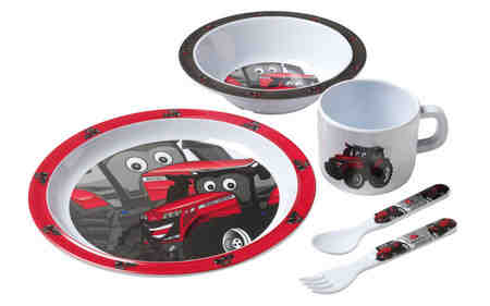 Dinner Set | Massey Parts | Martin's Garage