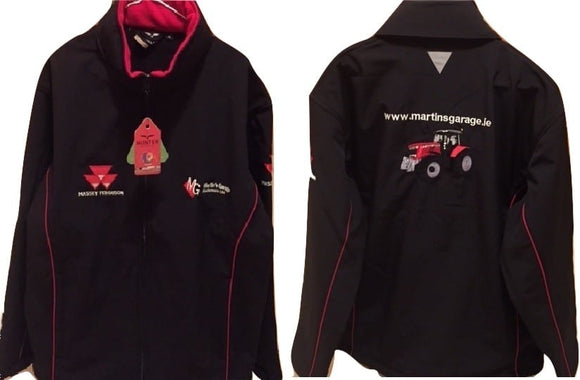 MF Black & Red Jacket | Massey Parts | Martin's Garage