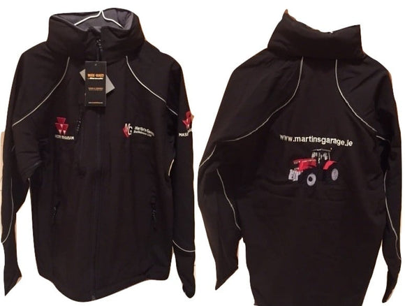 MF Hooded Shell Jacket | Massey Parts | Martin's Garage