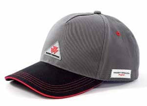 Grey / Black Cap | Massey Parts | Martin's Garage