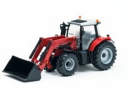 MF 6613 TRACTOR with front loader 1:32 | Massey Parts | Martin's Garage