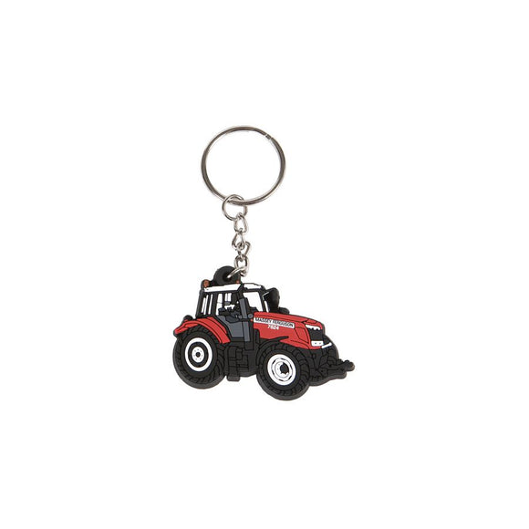 PVC Massey Ferguson Tractor Key Ring - MF 7600 - X993210016000 | Massey Parts | Martin's Garage