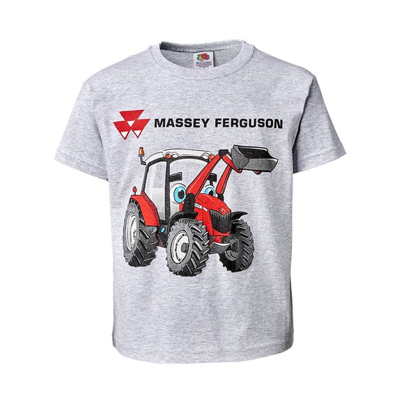 Massey Ferguson Kids T-Shirt - Grey - X993211905 | Massey Parts | Martin's Garage