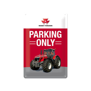 Massey Ferguson Parking Only Plate | Massey Parts | Martin's Garage