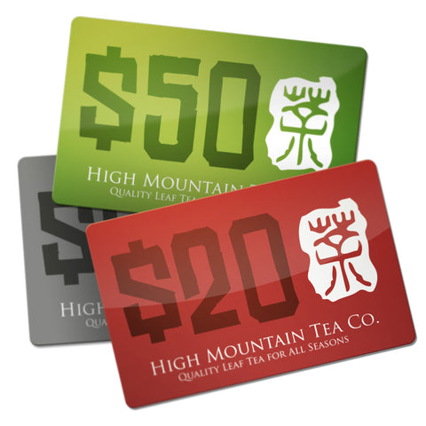 Gift Card - High Mountain Tea