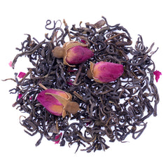 Red Rosebud and Fur Peak Green Tea - High Mountain Tea