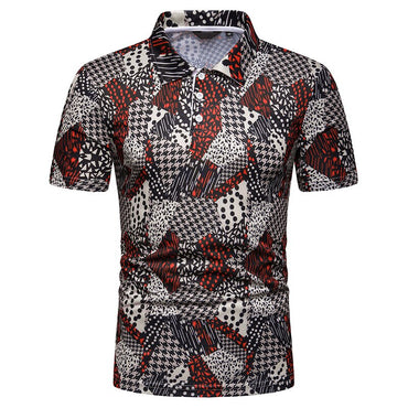 New Arrival Men Hot Style Short Sleeve Shirt