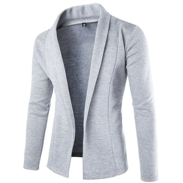 Men Cotton Blazer Korean Fashion Slim Fit Casual Style