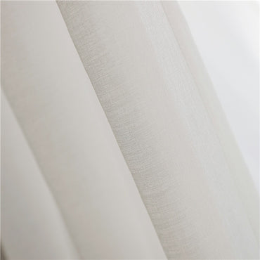 Soft Tulle Japan Style Voile Sheer Customized Curtain