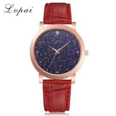 Luxury Women Dress Watches Rose Gold Stainless Steel Fashion Wristwatch
