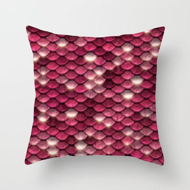 Colorful Geometry Pattern Pillow Case Home Decorative Map Velvet Cushion For Sofa