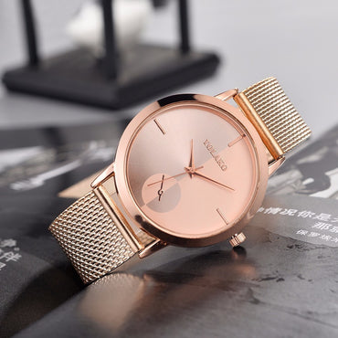 Hot Fashion Women Luxury Leather Analog Wrist Watches