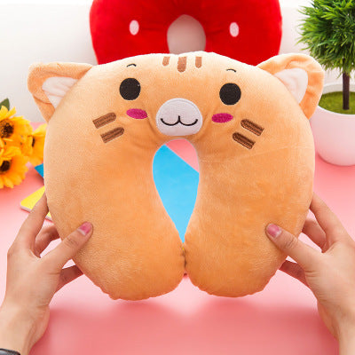 New Cartoon U-Shaped Neck Pillow Cervical  Cute Airplane Travel Pillow