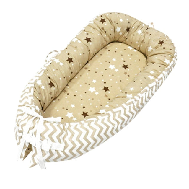 Newborn Baby Portable Removable And Washable Crib Travel Bed Nest