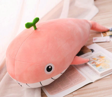 65cm-120cm New Style toy Very Soft Whale Plush Toys High-quality Cushion
