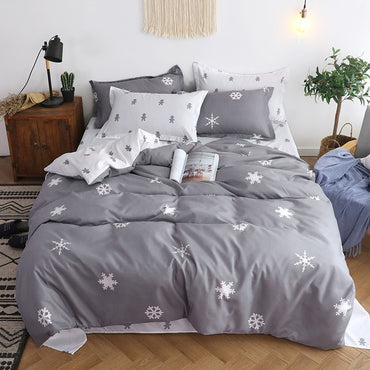 Beautiful Double Heart-shaped Comforter Bedding Set