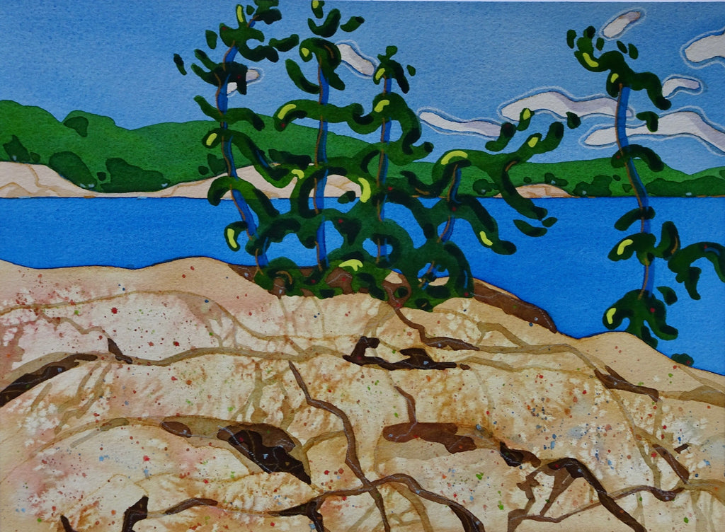 Gill Cameron Art KILLARNEY PORTAGE | Available at artfully.ca