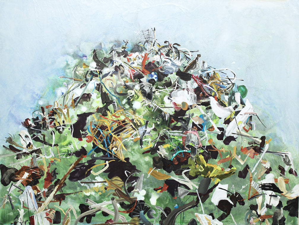 Lori Goldberg Art Cacophony of Our Debris | Available at artfully.ca