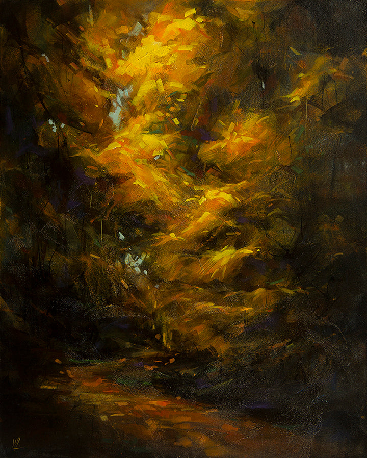 William Liao Art Deep Forest #6 | Available at artfully.ca