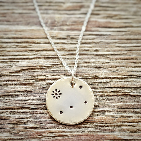 Crux Constellation Necklace
