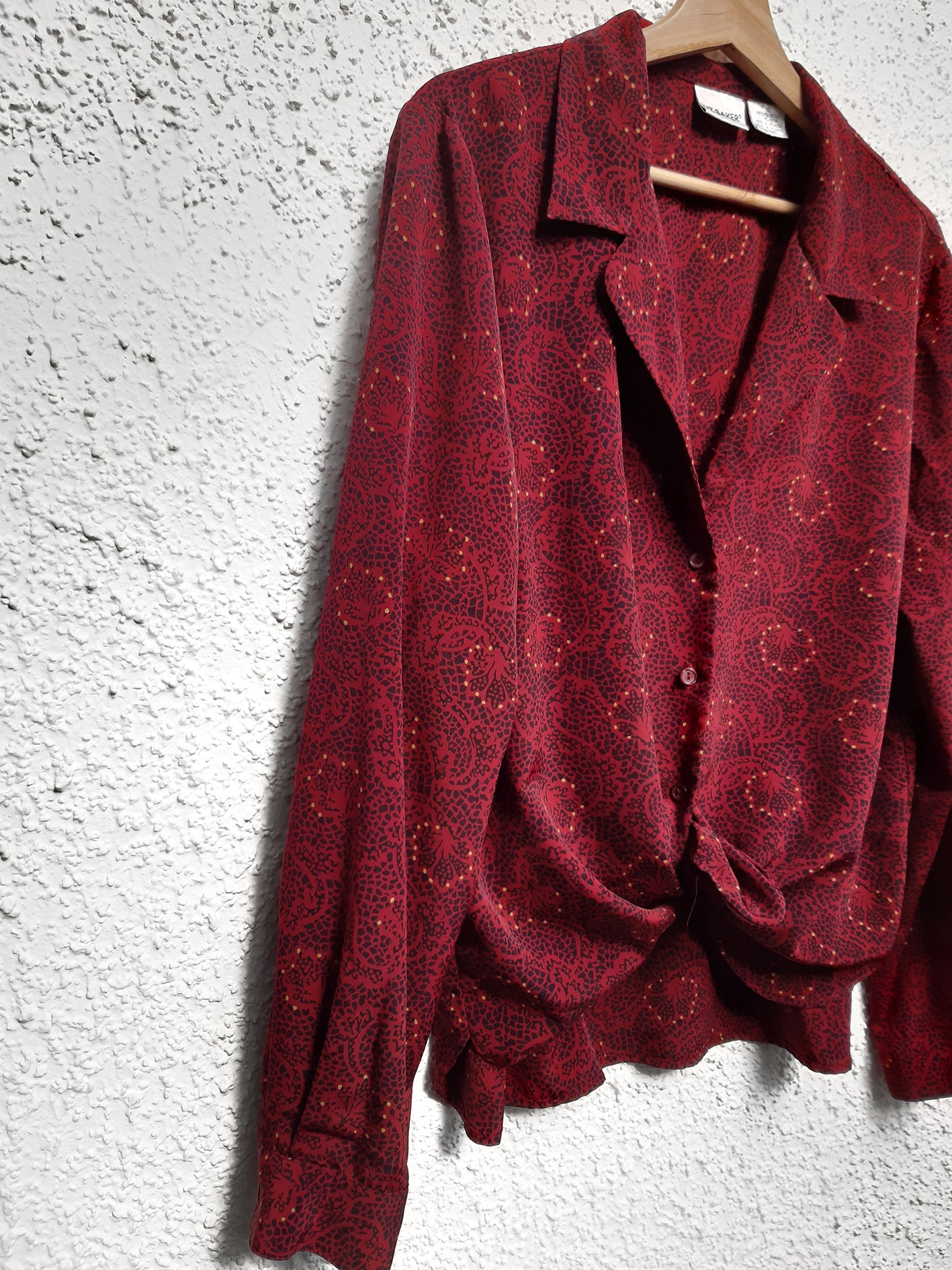 JOYA LOCAL, BLUSA VINTAGE ROJA