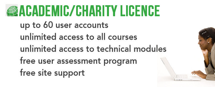 academic charity licence