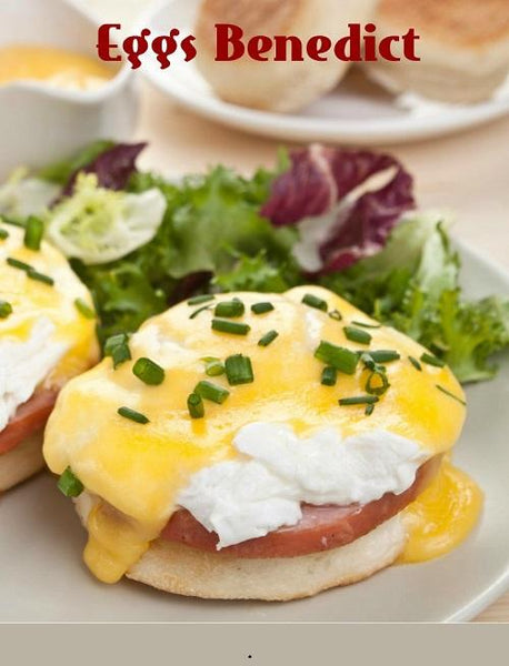 Poaching Eggs, EGGS Benedict with Hollandaise Sauce - Induction Guide