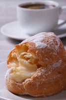 Italian Éclairs or Cream Puffs