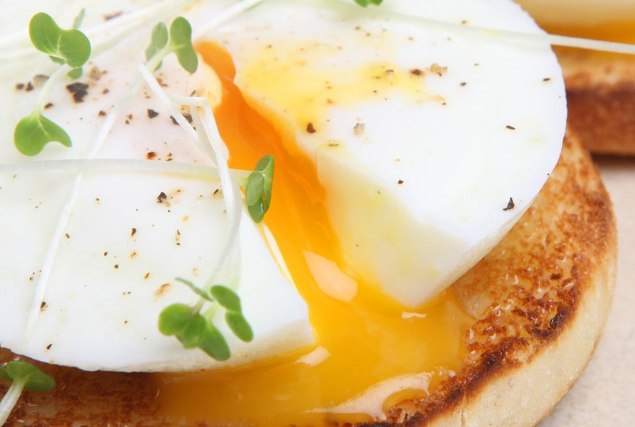 HOW TO COOK PERFECT FRIED EGGS by Chef Charles Knight see video