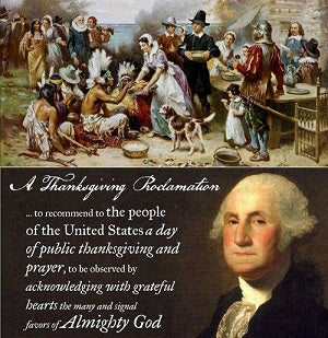 George Washington and the First Thanksgiving