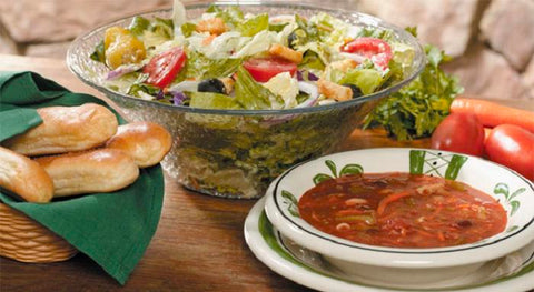 Soups, Salads and Sauces