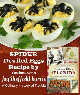 Angelic Deviled Eggs by Joy Harris see video