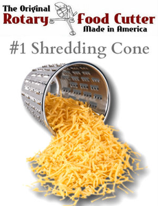 #1 Shredder Grating Cutting Cone - Cono Rallador No. 1